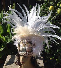 Polynesian Princess Headpiece. Tahitian & by TiareOPatitifa
