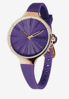 Purple & Gold Watch