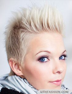 Spiky Hairstyles Spiky Haircut For Women  Hair  Pinterest  Haircuts And Short