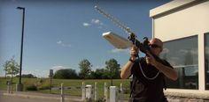 Battelle's DroneDefender anti-drone beam gun grounds UAVs - http://gizm.ag/1RgobmB
