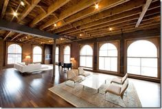 Who doesn't love a loft?