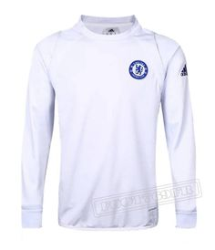 Dernier Sweatshirt Training Fc Chelsea Ligue Des Champions 2016-2017 France Thai Edition Velours Blanc