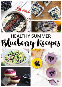 Healthy Summer Blueberry Recipes | Eat Chic Chicago