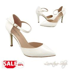 Souliers-blancs-Mariage-Chaussures-de-mariee-Soiree-Dansante-chaussures-mariage