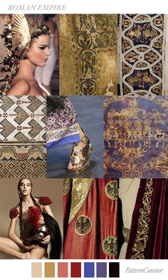 Pattern Curator is a trend service for color, print and pattern inspiration. Trend Fashion, Fashion Moda, Fashion 2018, Autumn Fashion, Fashion Design, Gold Fashion, Aw18 Fashion, Latest Fashion, Roman Fashion