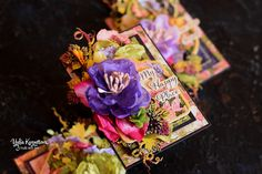 "Made with love: ATC ""Floral Shoppe"" Graphic 45, Atc, Shop, Flowers, Cards, Florals, Map, Playing Cards, Flower"