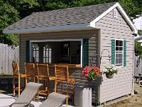 Love This Bar Shed How Could Anyone Not Want One Garage Ideas