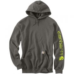 Find the Carhartt Men's Midweight Hooded Sweatshirt - Charcoal by Carhartt at…