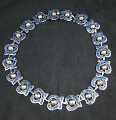 Margot de Taxco Necklace and Bracelet