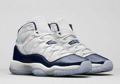 aad960f1ebe Nike Air Jordan 11 Win Like 82 XI Retro Midnight size 10 Navy White 378037  123