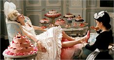 Scene from the film Marie Antoinette, one of my favorites.