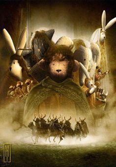 Montajes de cine para Monos de Trapo, de JAHD – El Señor de los Anillos - UNA DE CINE, MONOS DE TRAPO