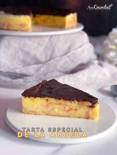 Flan, Sweet Pie, Cake Cookies, Cupcakes, Cookie Bars, Tiramisu, Cheesecake, Sweets, Cooking