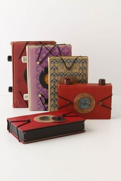 Repurposed-vintage-book pinhole cameras. (Oh Anthropologie, always bringing the awesome/ridiculous/overpriced.)