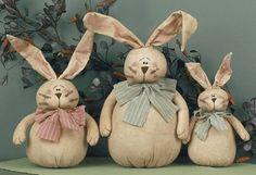 primitive easter bunnies