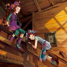 Vainilla y Pervinca eran dos niñas adorables y, ¡suspirosuspirante!, absolutamente normales. Al menos así lo creí hasta la noche número tres mil ochocientos cuatro...