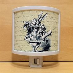 Rabbit In Waistcoat Night Light now featured on Fab by You Know