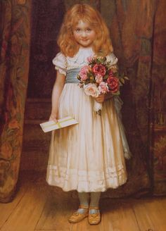 Victorian girl with flowers http://www.sipplondon.com/