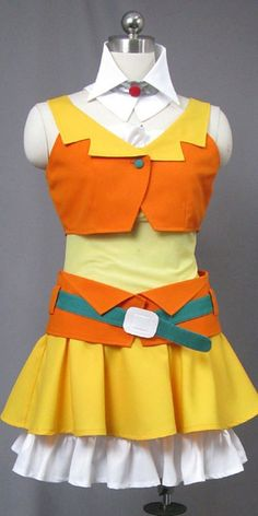 FOCUS-COSTUME Vocaloid Family Gumi Dress Cosplay Costume >>> More info could be found at the image url.