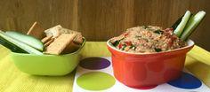 Untable de berenjena, anacardo y tomates secos