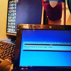 Installando linux... #informatica #passione #computer #linux by saverio_custodi