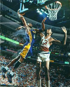 Kobe Bryant x Wilt Chamberlain by skythlee on DeviantArt