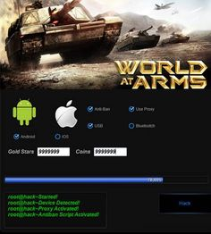 World at Arms Hack http://spectoraide.com/world-at-arms-hack-cheats/