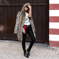 "2,060 Me gusta, 87 comentarios - Alba Zapater (@mstreinta) en Instagram: ""The CoAt 🙌🏻🐯 #todayONmyBloG #mstreinta #newpost #whatiwear #outfit #outfitoftheday #lookoftheday…"""