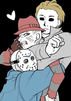 Everyone loves Freddy! Horror Movies Funny, Horror Movie Characters, Slasher Movies, Scary Movies, Horror Show, Horror Art, Horror Villains, Horror Pictures, Horror Icons