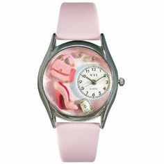 Whimsical Watches Women's S1010007 Shopper Mom Pink Leather Watch Whimsical Watches. $40.99
