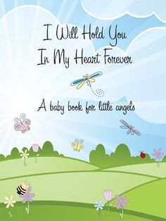 Angel Baby Book designed for death of a child instead of the normal baby record books