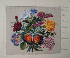 L.W. Wittich - Blumenstrauss Die Anfangsbuchstaben der Blumen ergeben das Wort…