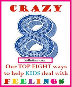 Our top 8 ways to help KIDS deal with #FEELINGS #ece #parenting #playtime