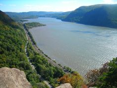 Hudson River, NY. On my bucket list is to ride the bike route along the Hudson.
