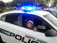 Zachy as partner on police detail.