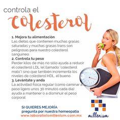 Hoy cada vez más jóvenes tienen el colesterol alto pero tú no tienes que pasar por este riesgo en tu salud. Contrólalo!