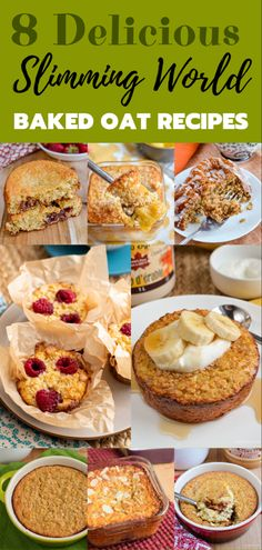8 Must-Try Baked Oats Slimming World Recipes - The perfect way to start your day is with one of these amazing recipes. astuce recette minceur girl world world recipes world snacks Baked Oats Slimming World, Slimming World Cake, Slimming World Diet Plan, Slimming World Desserts, Slimming World Recipes Syn Free, Slimming Eats, Slimming World Porridge, Slimming World Breakfasts Free, Slimming Workd