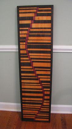 Hips  wooden wall art modern wood art by StainsAndGrains on Etsy, $295.00