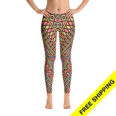 Now trending: Yoga Leggings, Patterned Yoga Pants, Colorful Fitness Tights  https://www.etsy.com/listing/522694839/yoga-leggings-patterned-yoga-pants?utm_campaign=crowdfire&utm_content=crowdfire&utm_medium=social&utm_source=pinterest