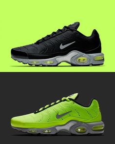 "sale retailer 26d23 139a8 Foot Locker on Instagram  ""High voltage. ⚡  Nike Air Max Plus Premium  Volt  Pack  Available Now in Select Stores Now!"""