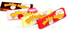 The Hubba Bubba was great chewing gum because, unlike other bubble gums, it was very soft and made h
