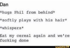 I can actually imagine Dan doing this