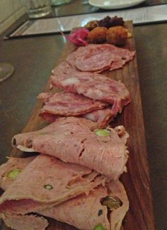 The Charcuterie at Richmond Station, Toronto.  Lovely.