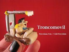 Troncomovil en Porcelana Fria / Cold Porcelain - YouTube