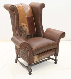 One Very Cool Club Chair Accent Chairs Paisley Chair