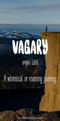 I love travelling and I love languages, so imagine my excitement when I came across a treasure trove of travel words that describe how we feel before, during, and after we travel.
