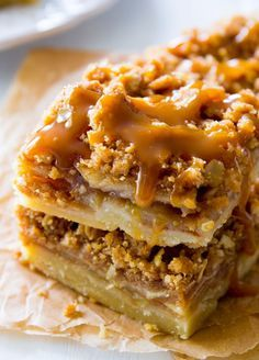 your recipes: Salted Caramel Apple Pie Bars