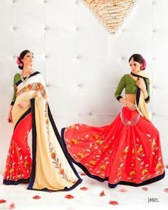 Beige And Pink Jacquard Georgette Saree With Heavy Velvet Border