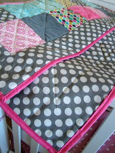 The beginner's beginner guide to quilting - a baby blanket/quilt