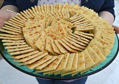 Aunt Looney's Easy Peasy Party Crackers ~ These crackers are the stuff of legends. And my sister in law's recipe is the bet I've ever had! http://www.southernplate.com